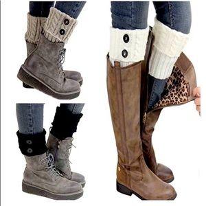 New! NWT Pack of 3 Knit Boot (leg) Cuffs (+1 Free)